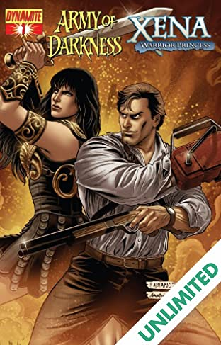 Army of Darkness/Xena: Warrior Princess - Why Not? #1 (of 4)